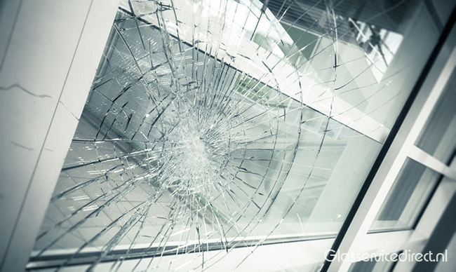 Glasschade herstellen Koekange